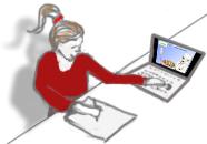 mattehjälp vid datorn