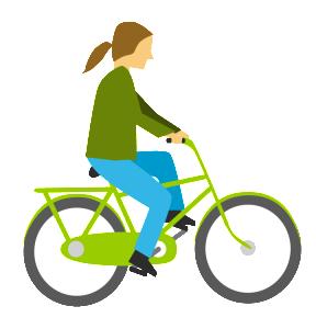 Cyklist_gron_cyklist
