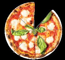 Andel av en pizza