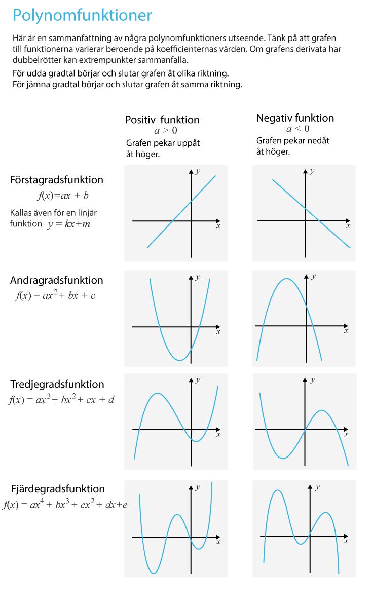Polynomfunktioners graf
