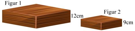 Rätblock i skala