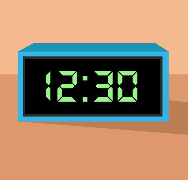 Den digitala klockan