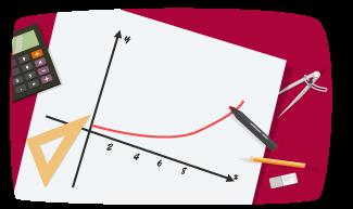 grafen till en exponentialfunktion