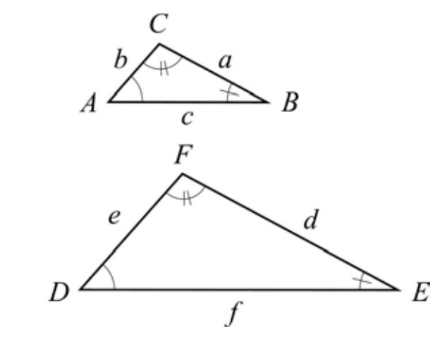 Likformiga triangler