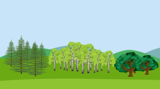 Hur stor andel av träden är inte räknade
