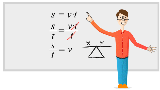 Skriva om eller lösa ut formler