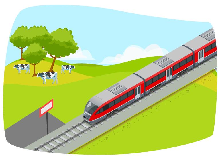 Sannolikheten att hinna med tåget