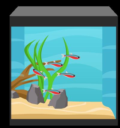 Volym akvarie