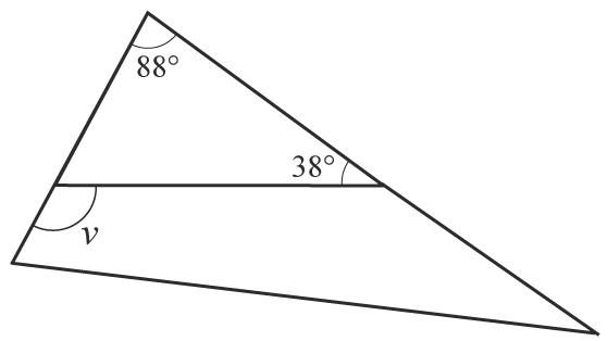 Triangel med vinklar